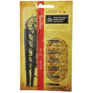 Kit para Caligrafia Speedball N°20 General Purpose 2967