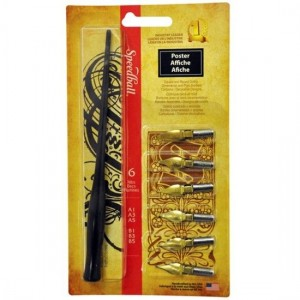 Kit para Caligrafia Speedball Poster 2963