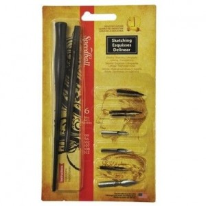 Kit para Caligrafia Speedball Sketching 2964