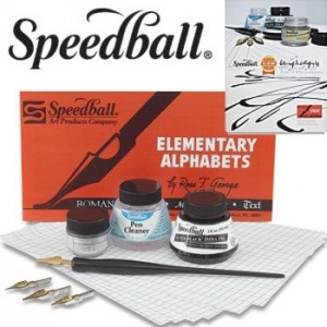 Kit  Para Caligrafia Speedball Completo 3060