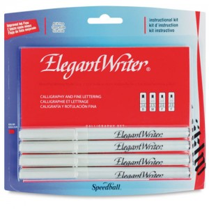 Kit de Caneta Para Caligrafia Speedball Elegant Writer 2880