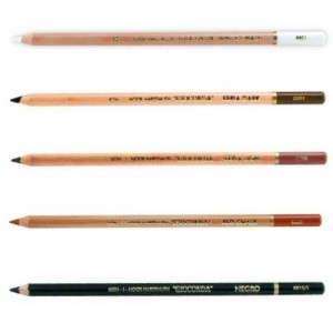 Lápis Crayon Gioconda  Kit 05 Cores