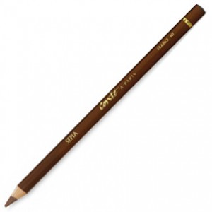 Lápis Crayon Conté à Paris Sépia