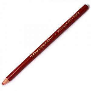Lápis Dermatográfico Vermelho MitsuBishi 7600