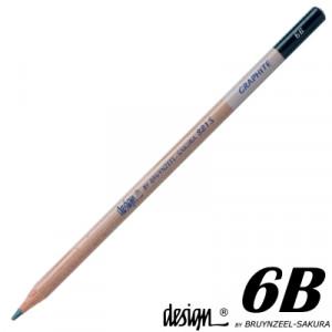 Lápis Graduado Para Desenho Bruynzeel 6B