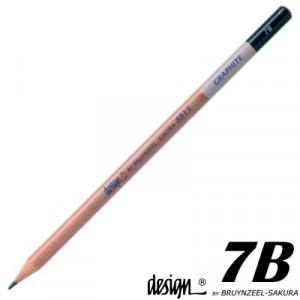 Lápis Graduado Para Desenho Bruynzeel 7B