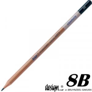 Lápis Graduado Para Desenho Bruynzeel 8B