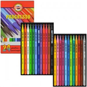 Lápis Integral Colorido Koh-I-Noor 24 cores