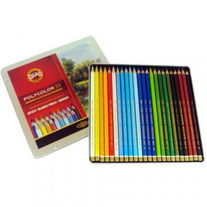 Lápis de Cor Polycolor 24 Cores Paisagens