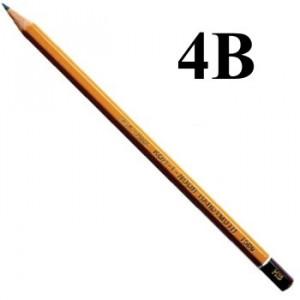 Lápis Graduado Koh-I-Noor 1500 4B