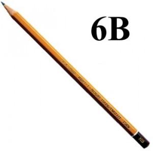 Lápis Graduado Koh-I-Noor 1500 6B