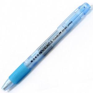 Caneta Borracha Mono Knock 3.8mm Azul