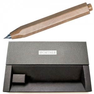 Lapiseira 3.15mm Worther Madeira Tom  Médio