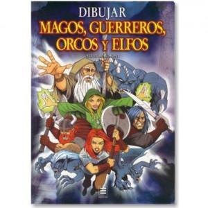 Livro Dibujar Magos, Gerreiros, Orcos y Elfos - Steve Beaumont