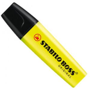 Marcador de Texto Stabilo Boss Amarelo 24