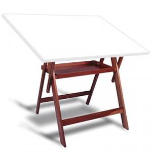 Mesa Para Desenho com Porta Objetos Trident CV-34 BP-100