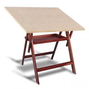 Mesa Para Desenho com Porta Objetos Trident CV-34 PA-100