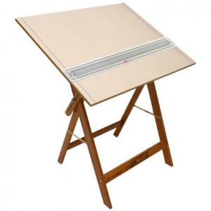 Mesa Para Desenho com Régua Paralela 4830 PA-80 Trident