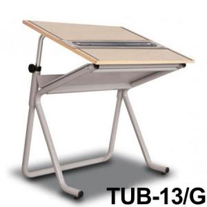 Mesa Para Desenho com Régua Paralela Tub 13/G PA-100 Trident