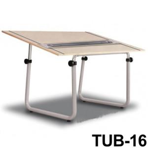 Mesa Para Desenho com Régua Paralela Tub 16 PA-150 Trident