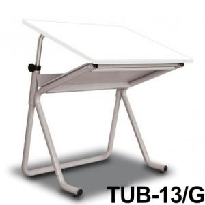 Mesa Para Desenho Tub 13/G 100x80cm BP-100 Trident