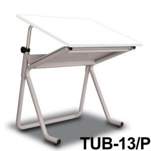Mesa Para Desenho Tub 13/ P 80x60cm BP-80 Trident