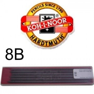 Mina Grafite Koh-I-Noor 2.0mm 8B 4190