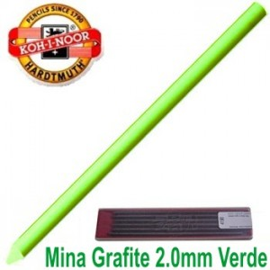 Mina Grafite Koh-I-Noor 2.0mm Verde Escuro 4300