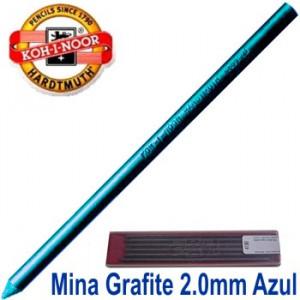Mina Grafite Koh-I-Noor 2.0mm Azul 4300
