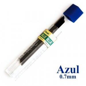 Mina Grafite Pentel 0.7mm Azul