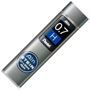 Mina Grafite Pentel AIN STEIN 0.7mm H