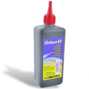 Drawing Pelikan Preto Intenso A17 250ml