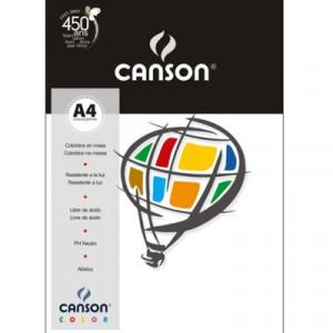 Papel Canson Vivaldi A4 120g/m² 15 Folhas 01 Branco