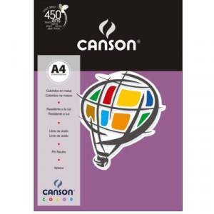 Papel Canson Vivaldi A4 180g/m² 10 Folhas 13 Lilás