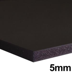 Placa FoamBoard 70x100cm Preto 5mm