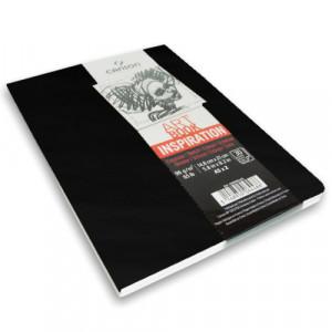 Caderno Para Sketch ART BOOK Inspiration Canson A5x2 Preto