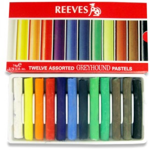 Pastel Seco  Soft Reeves 12 Cores