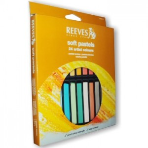 Pastel Seco Reeves 24 Cores