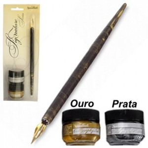 Kit  para Caligrafia Speedball Pena e Tinta - Signature 94160