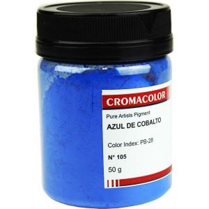 Pigmento Artístico Puro 105 Azul Cobalto Cromacolor 50g