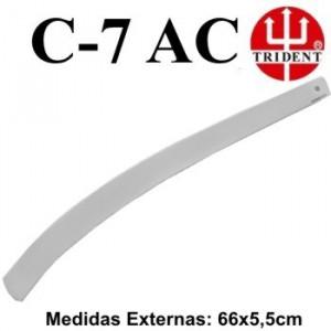 Régua de Corte e Costura Trident C-07 Acrílico Legítimo