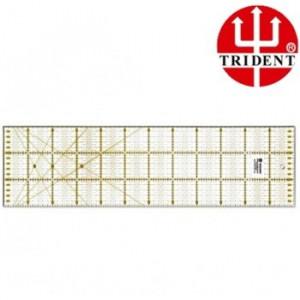 Régua de Patchwork Trident Quadriculada 150x600