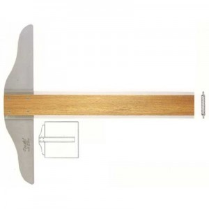 Régua  T 100cm Madeira Trident 5310