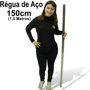 Régua de Aço 150cm (1,5 metros)