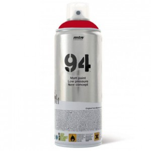 Tinta Spray Montana MTN 94 RV-3001 Rojo Vivo