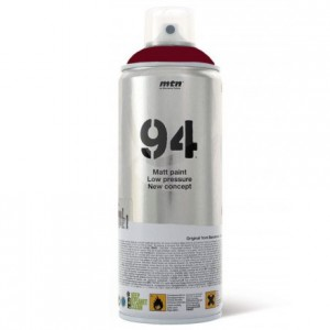 Tinta Spray Montana MTN 94 RV-3004 Rojo Burdeos