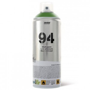 Tinta Spray Montana MTN 94 RV-6018 Verde Valle