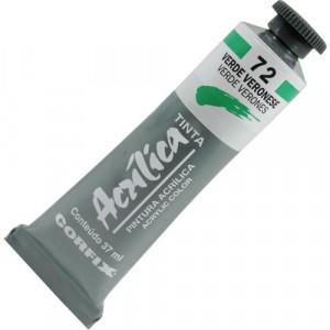 Tinta Acrílica Corfix 37ml  72 Verde Veronese
