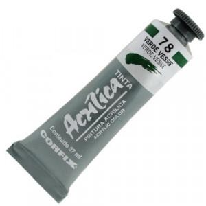 Tinta Acrílica Corfix 37ml  78 Verde Vessie