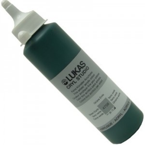 Tinta Acrílica Lukas Cryl Studio 250ml 4758 Green Earth